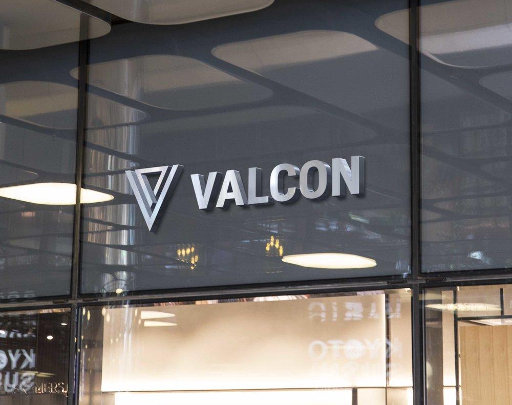 2018 Valcon Logo Design