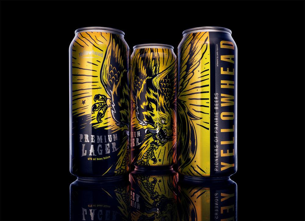 Yellowhead Premium Lager