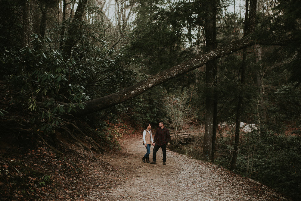Hailey + Mack - Linville Falls, NC