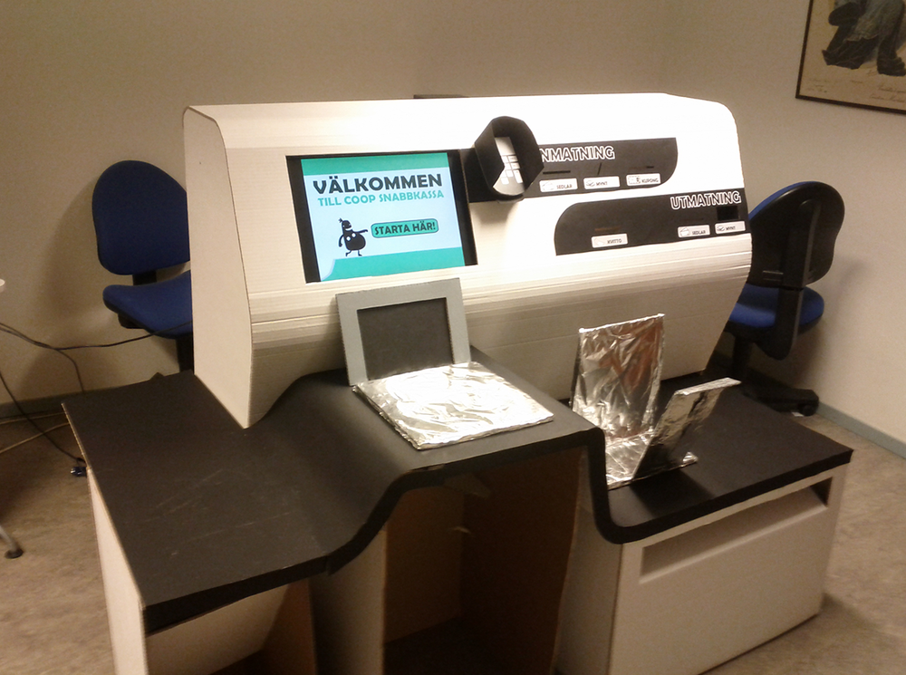 Prototype tested in usability lab