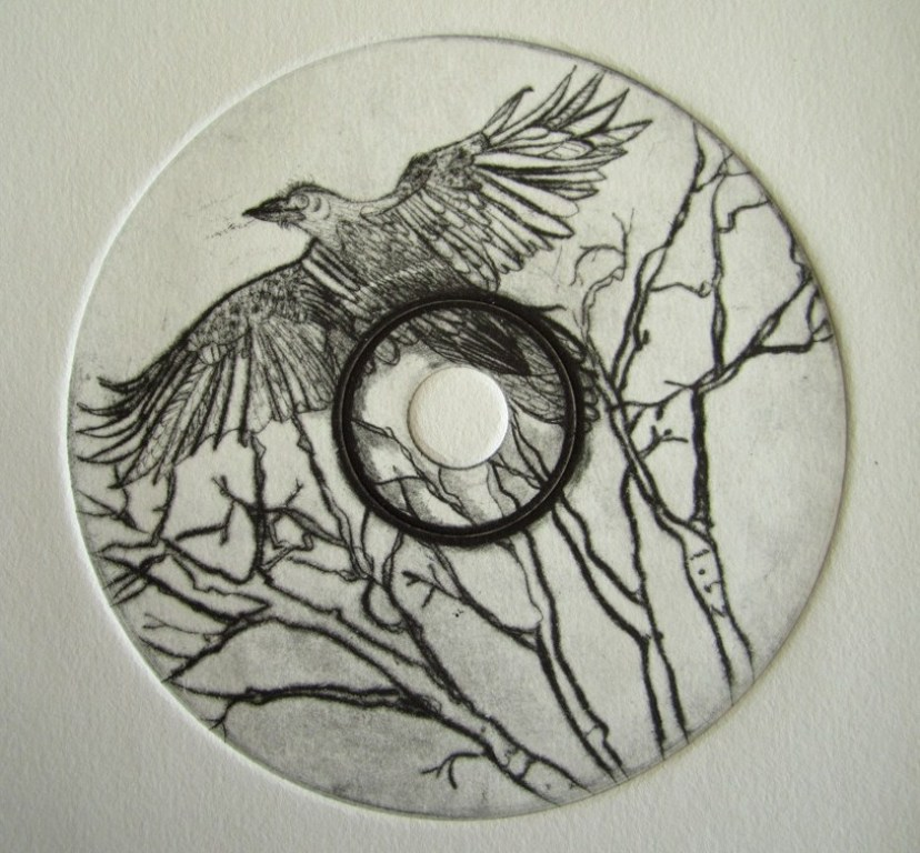 Image 1 - Susan Greenbank - Etching on CD disc - 2013.JPG