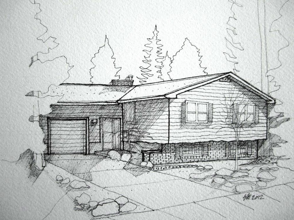 Gail's house in Calgary 2012.JPG