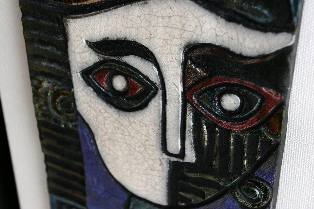 My Picasso - detail raku tile.JPG