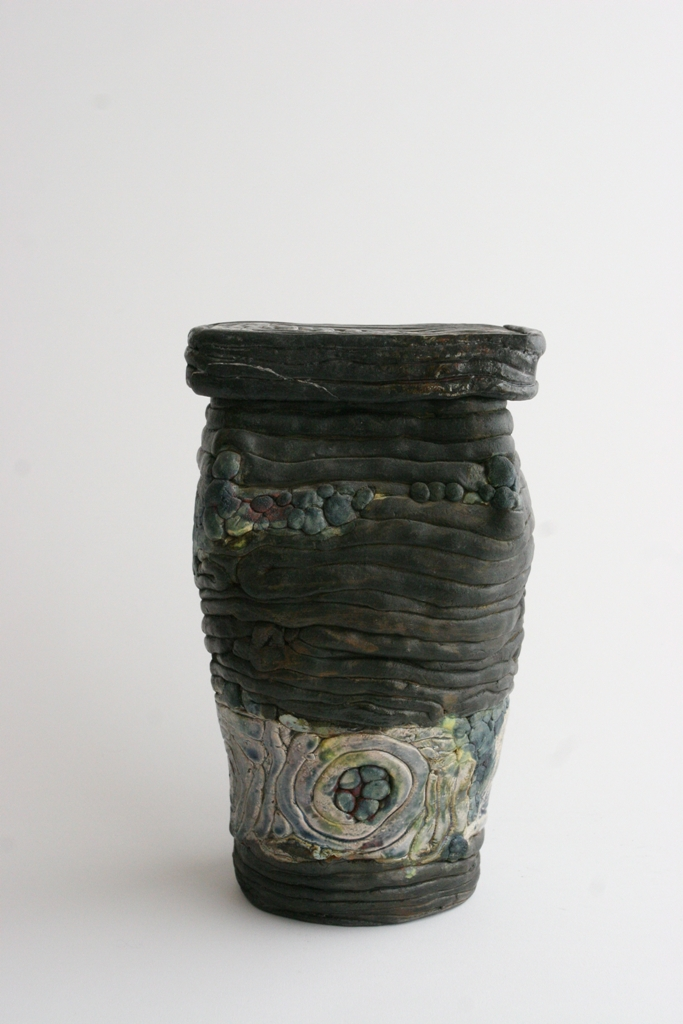 Raku lidded sculpture.JPG