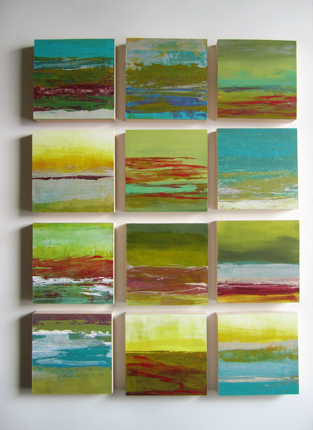 Image 3 - St. Andrews Seascape in series of 12 in arylic - Susan Greenbank 2018.JPG