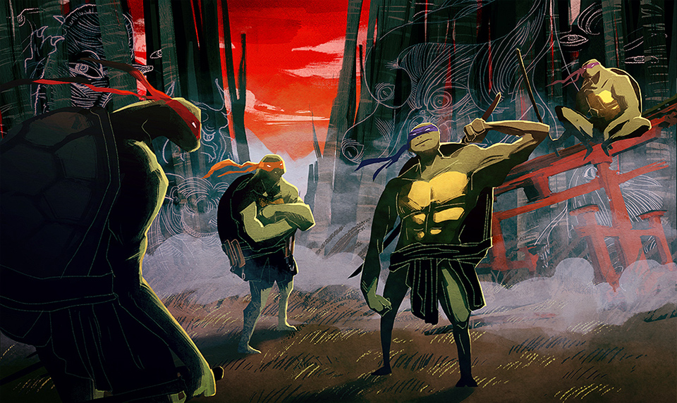 PARAMOUNT PICTURES, Teenage Mutant Ninja Turtles: Legend of the Yokai