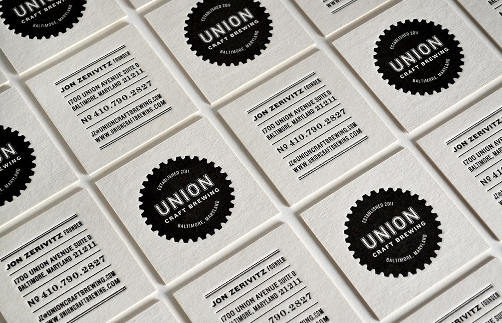 Union Printed Business Cards - Best Business 2017