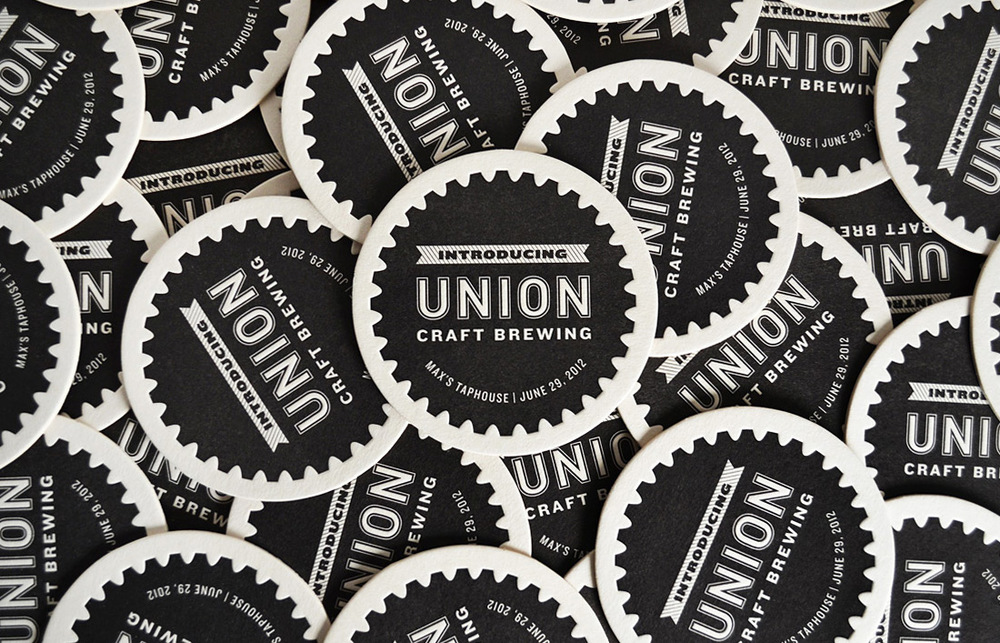 Union Craft Brewing: Coaster Design
