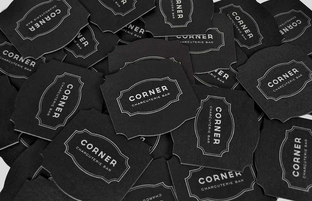 Corner Charcuterie Bar: Coaster Design