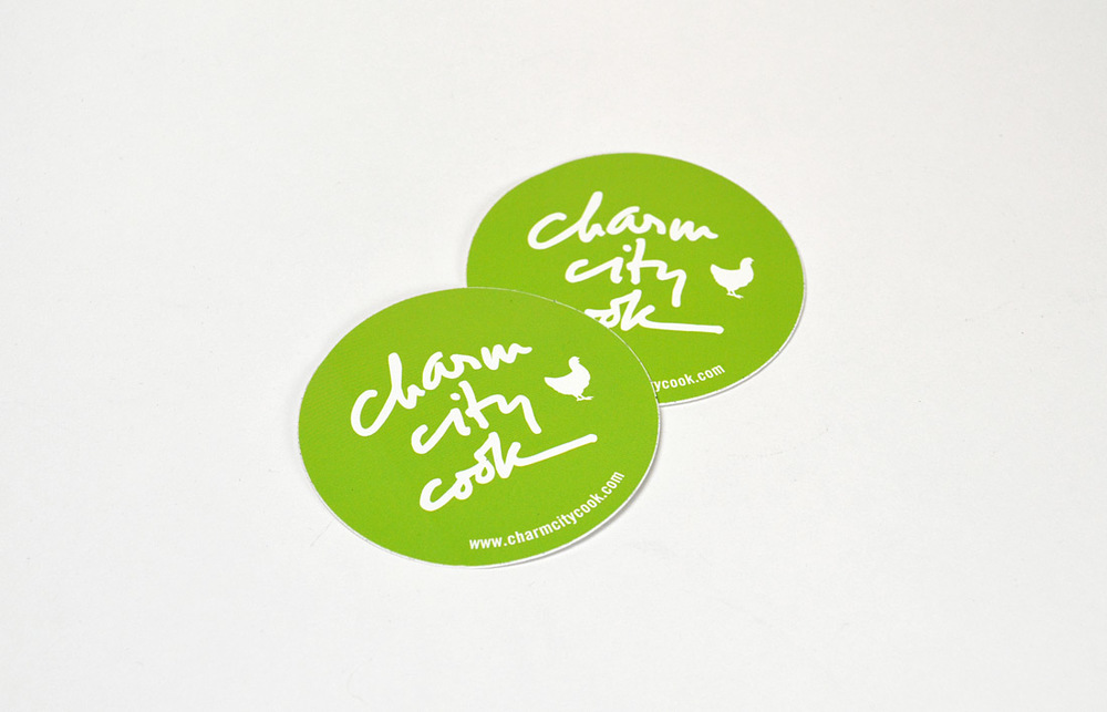 Charm City Cook: Sticker Design