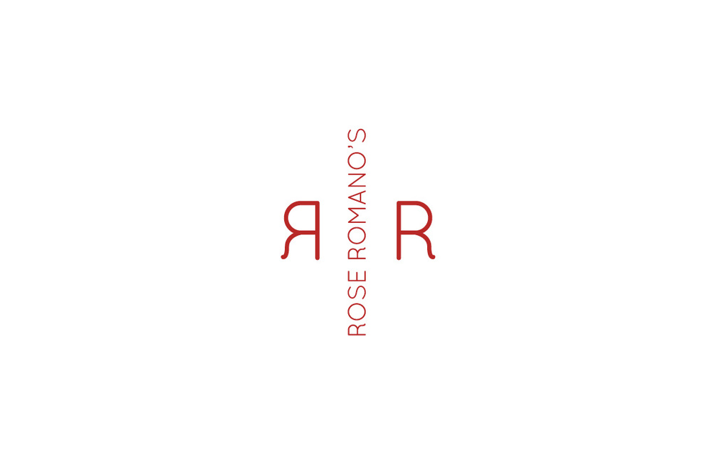 Rose Romano's: Logo design