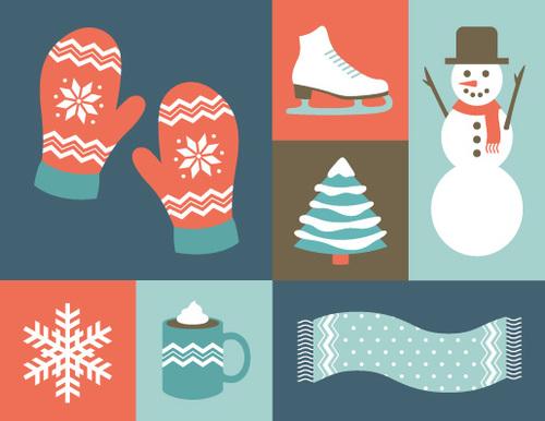 digital holiday boxed notes winter wonderland 8 cards gilah