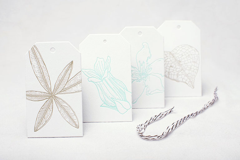 Botanicals: Gift Tags
