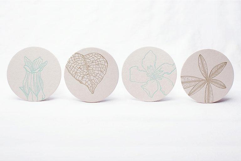 Botanicals: Coasters