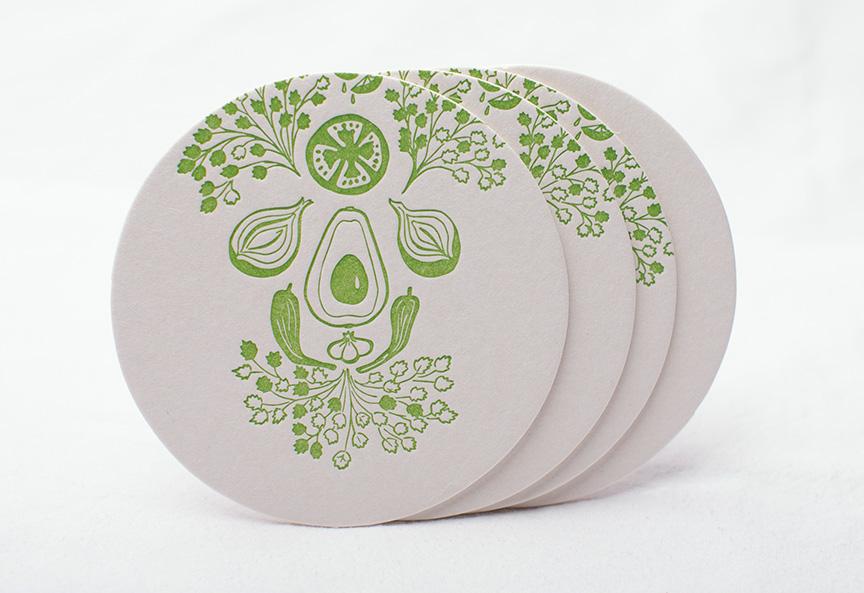 Guacamole: Coasters