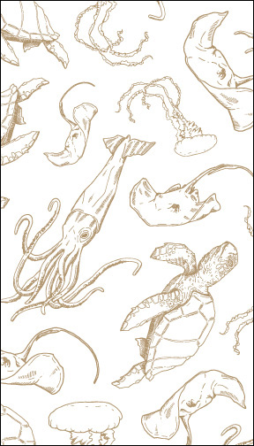 Sea Creatures: Notebook