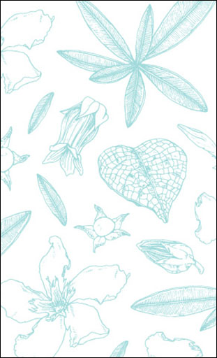 "Botanicals"" Pattern Card"