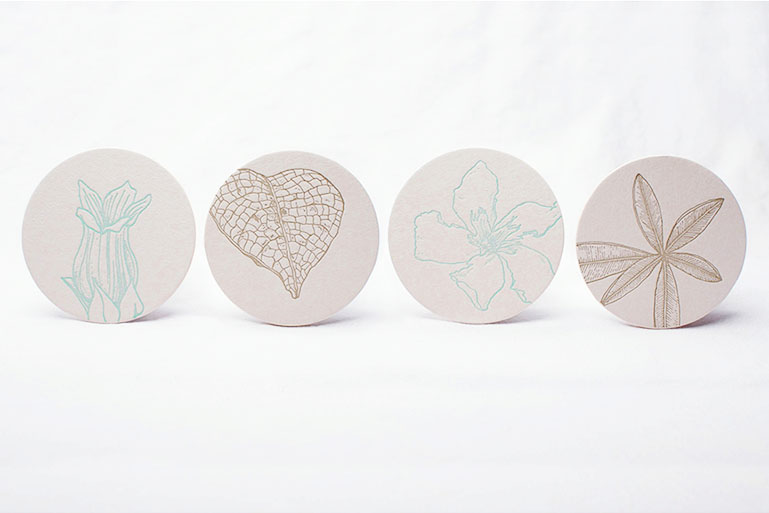 Botanicals: Coasters