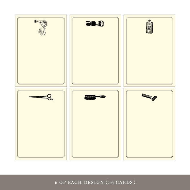 Gift Enclosures: Personal Care (36 cards)
