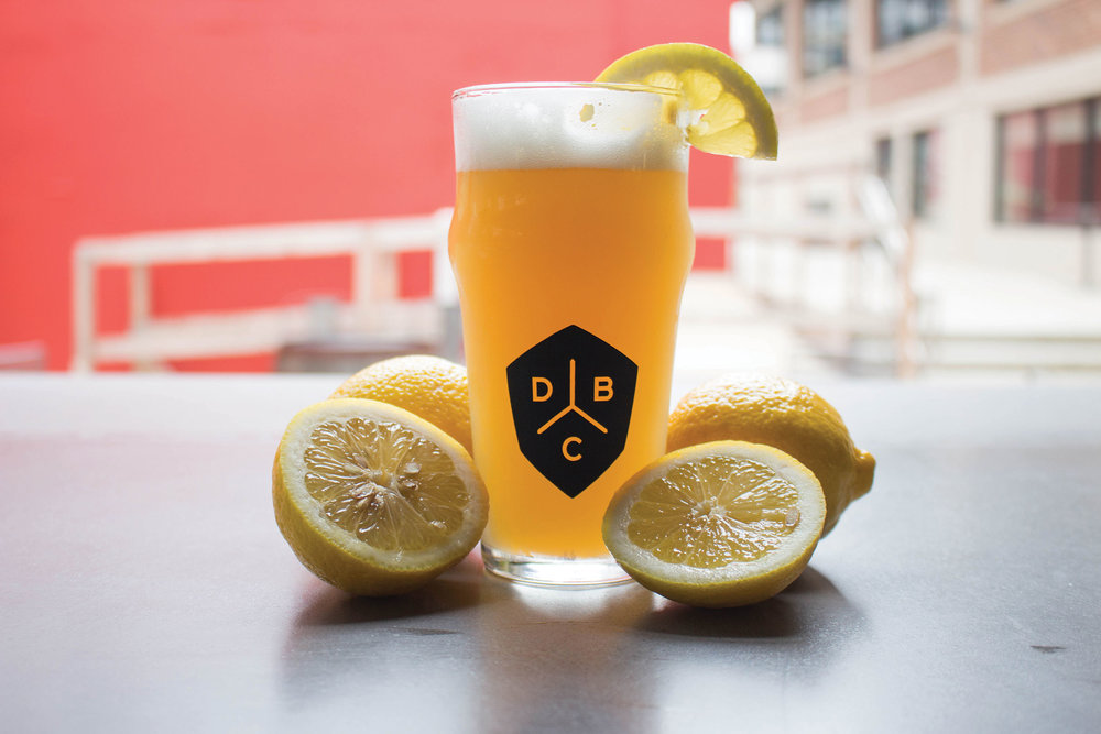 Diamondback Brewing Co.: Screenprinted Logo on Beer Glass
