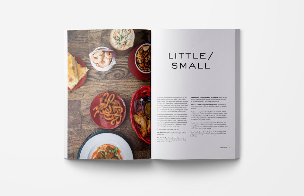 The Food Market: Cookbook Design