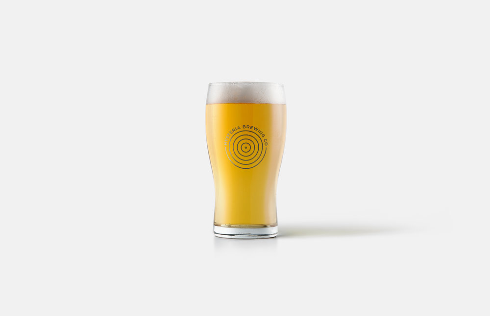 Hysteria Brewing Company: Beer Glass Design
