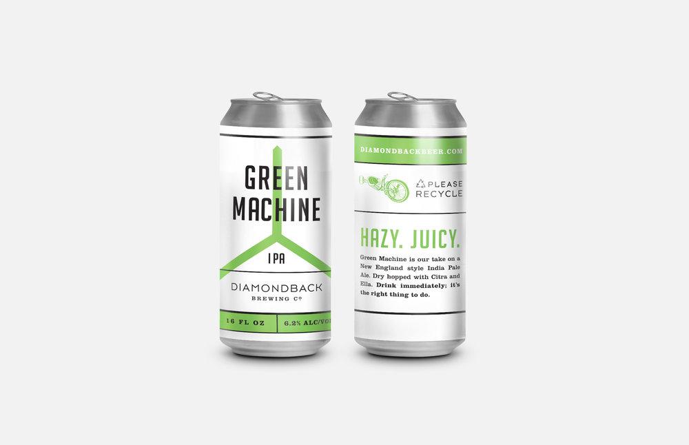 Diamondback Brewing Co.: Beer Label Design
