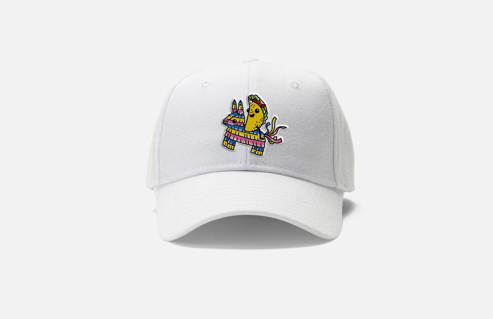 La Food Marketa: Tacopalooza Dad Hat Design