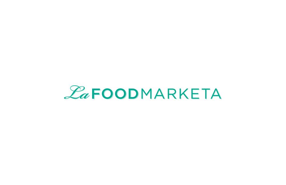 La Food Marketa: Logo Design