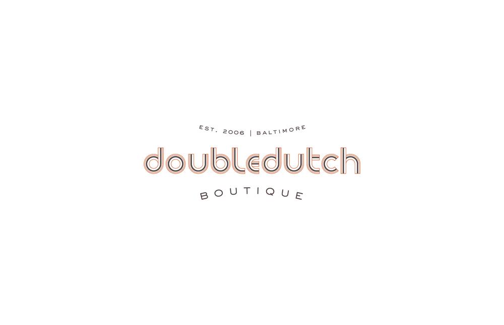 Doubledutch Boutique: Logo Design