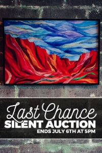 Last Chance Silent Auction of Madeline Grace Art during the Month of June