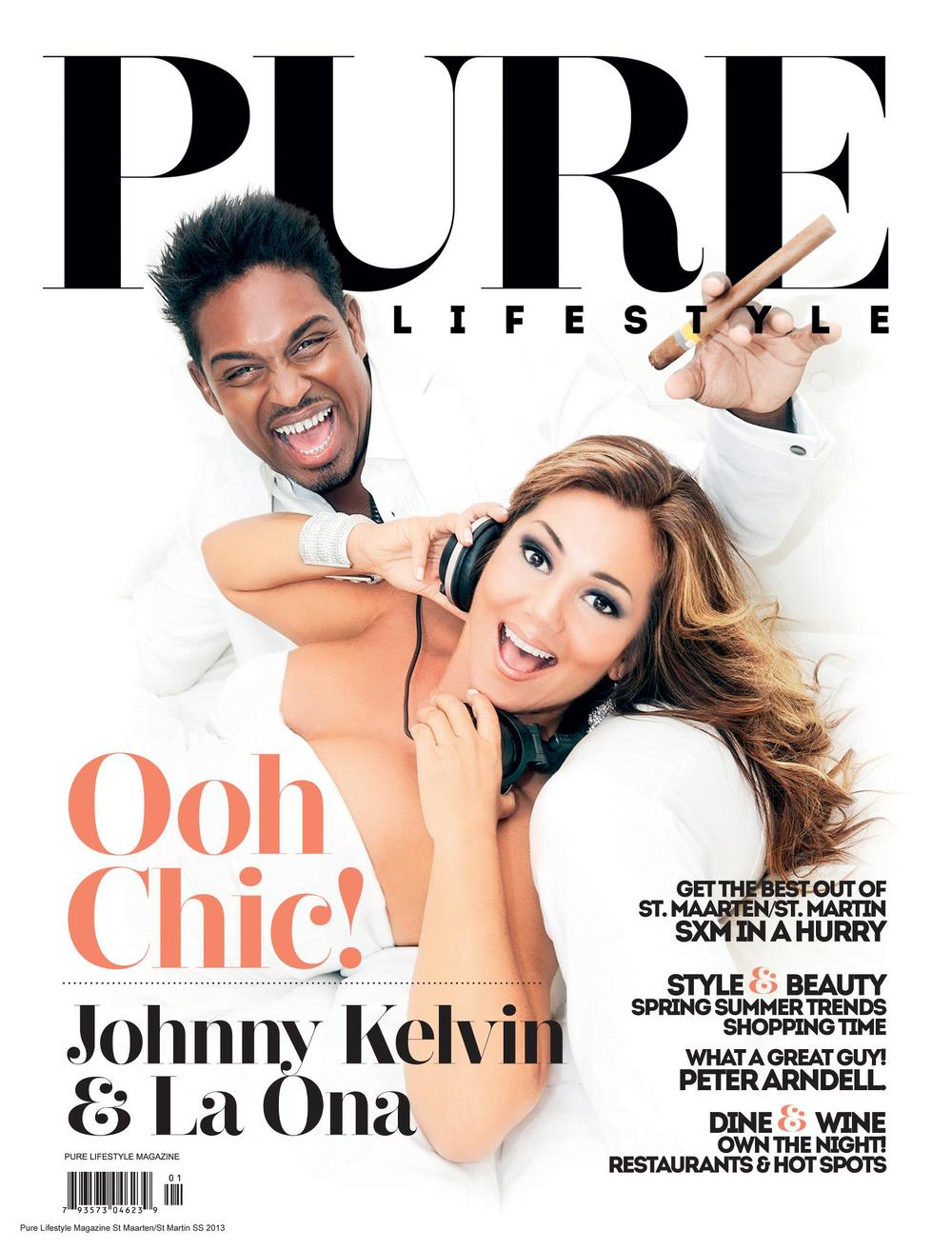 PURE Lifestyle Magazine - Spring 2013 Cover