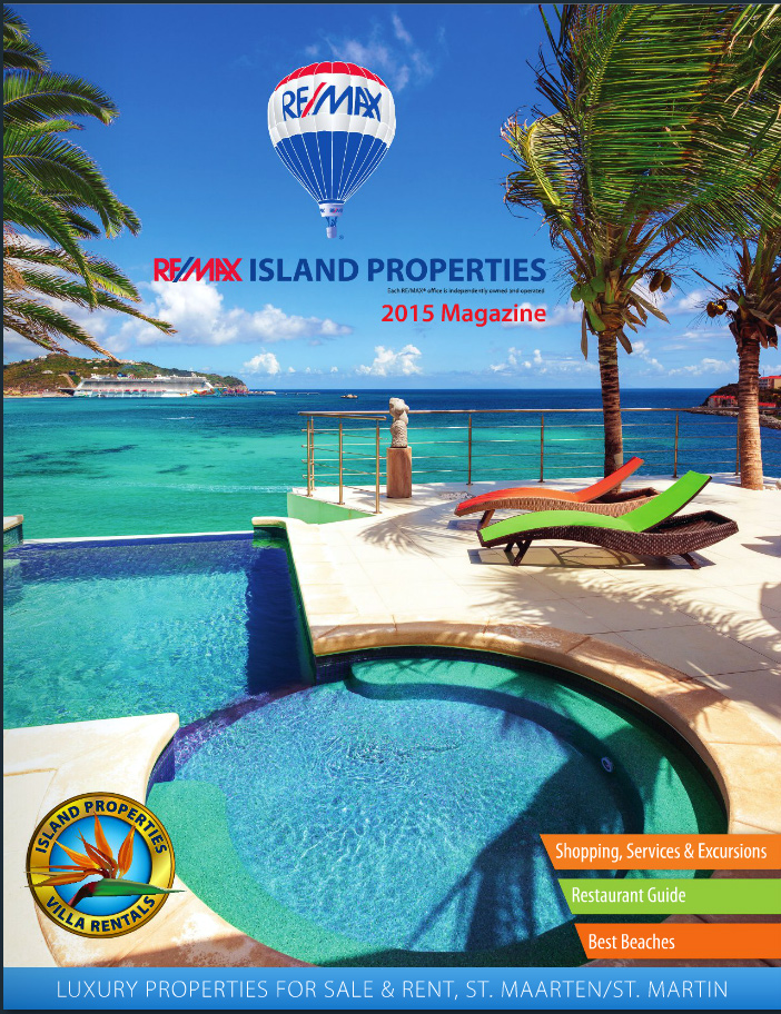 Re/MAX Island Properties Magazine Cover 2015