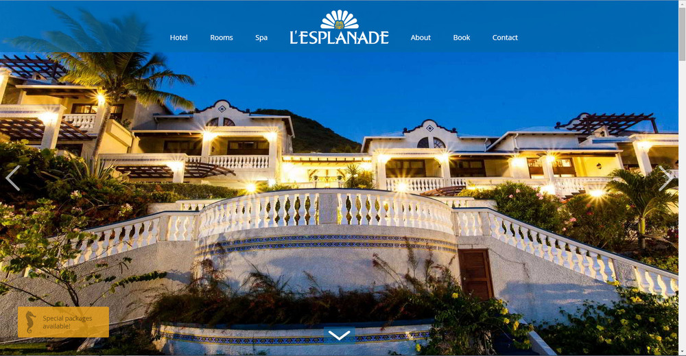 L'Esplanade Hotel