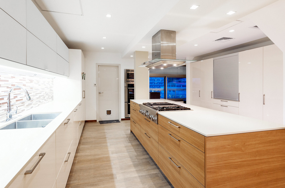 Modern Kitchen - Private residence