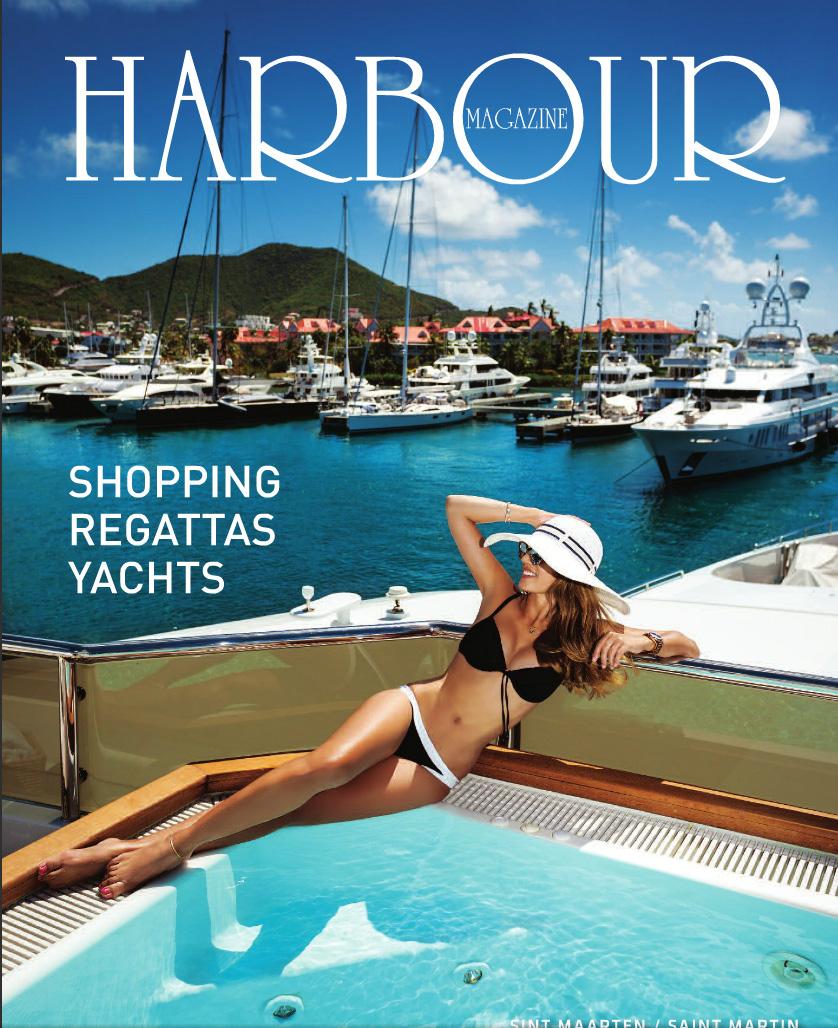 Harbour Magazine St Martin, 2016 Cover
