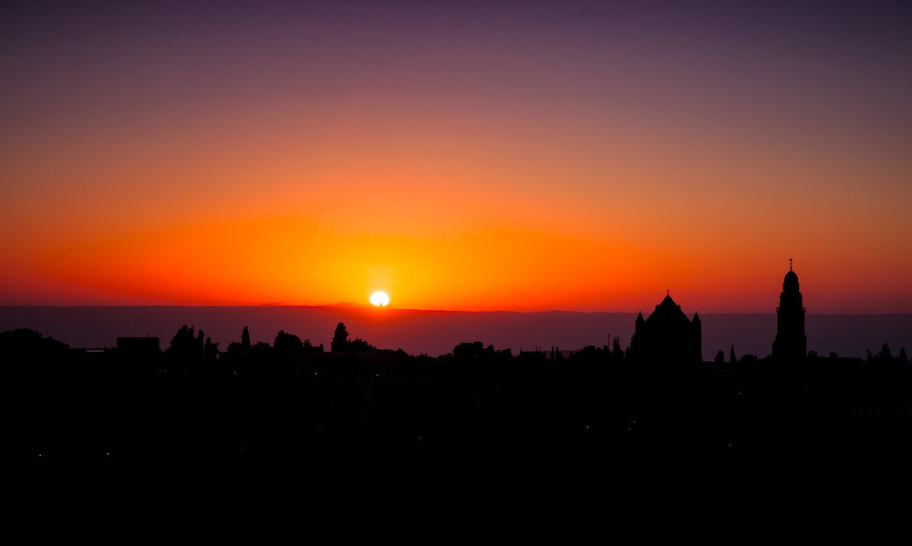 Jerusalem Sunrise, Israel