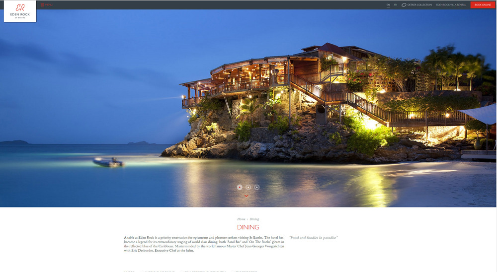 Eden Rock Hotel, St Barth