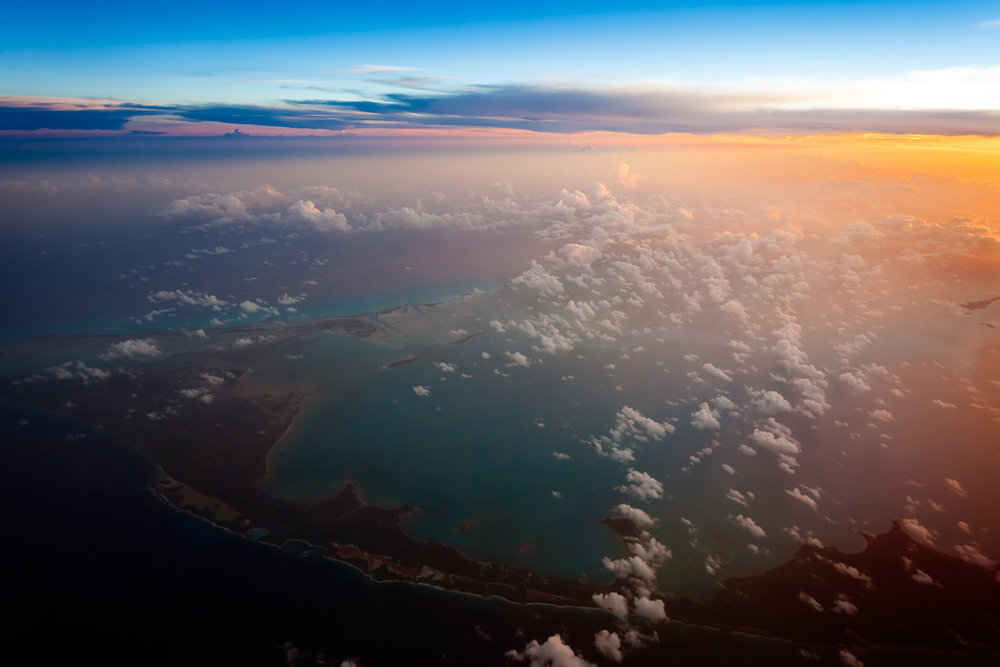 Turks & Caicos 40,00 ft above