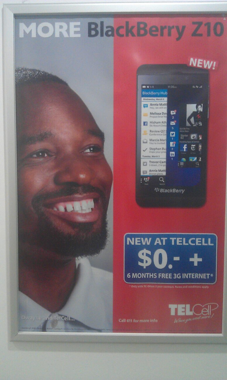 Ad for TelCell