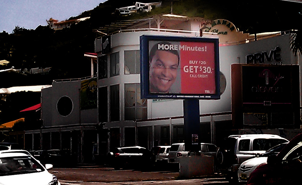 Telcell Billboard sign Ad
