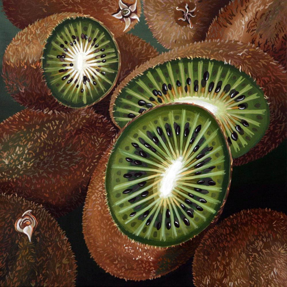 K is for Kiwi fruit.JPG