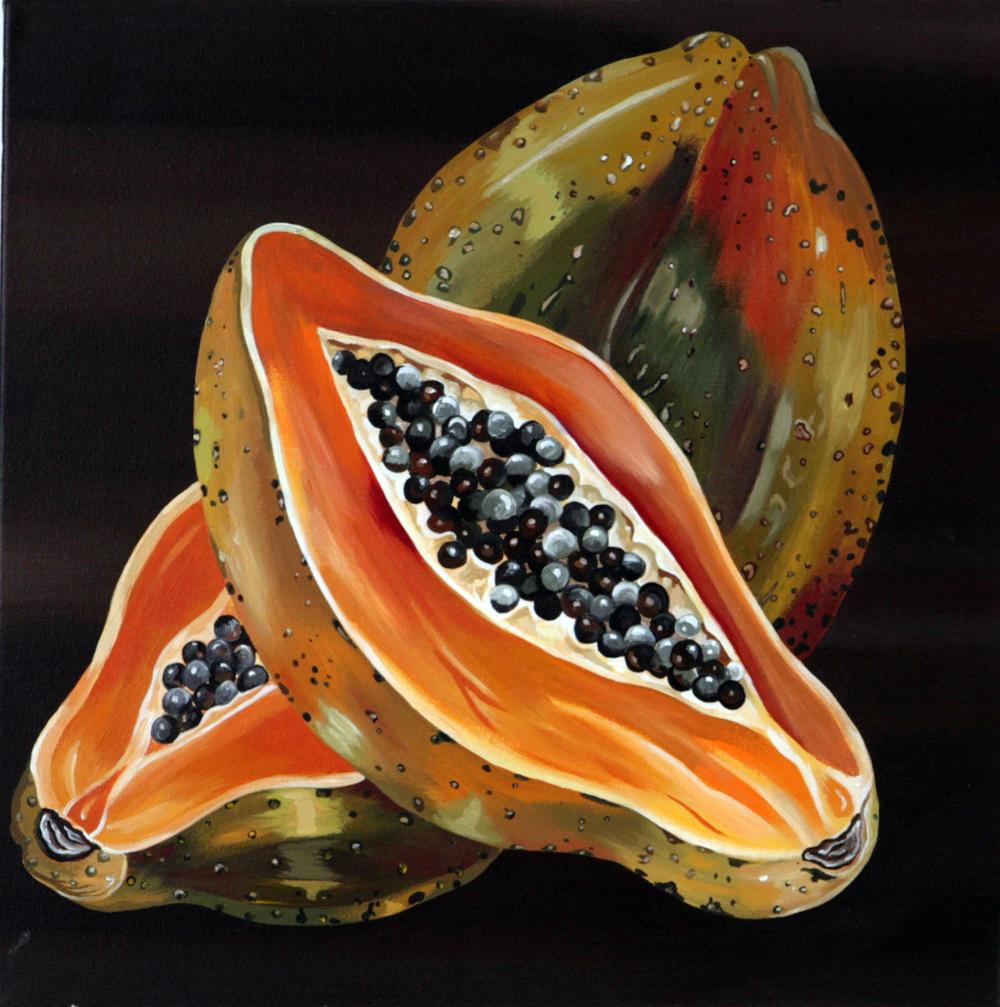 P is for Papaya.JPG