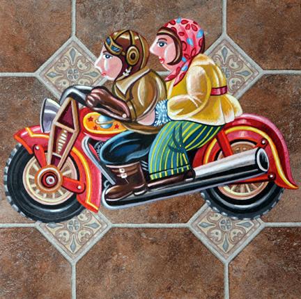Love on a bike.JPG