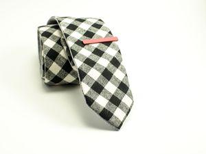 Checker Mens Tie