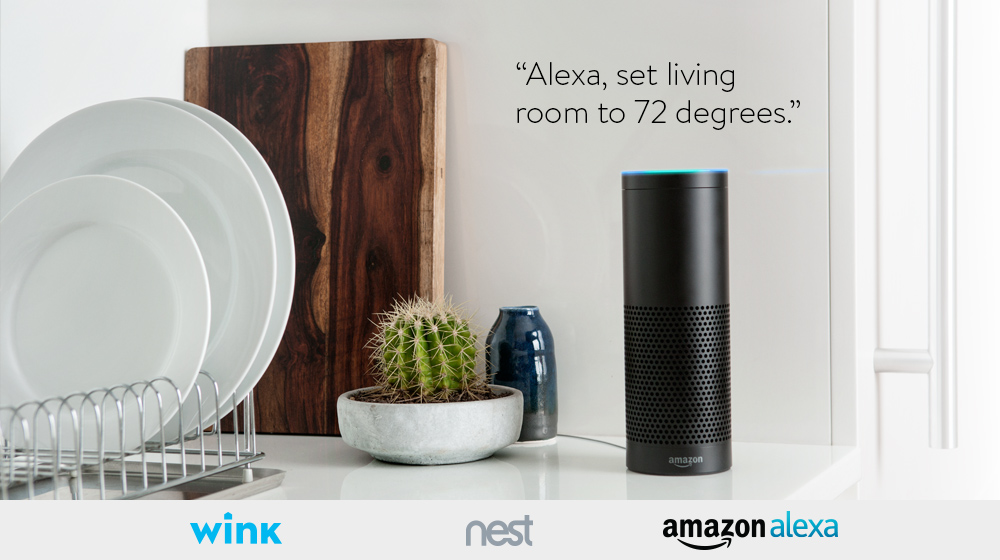 Wink Enabled Nest Thermostats Now Work With Amazon Alexa