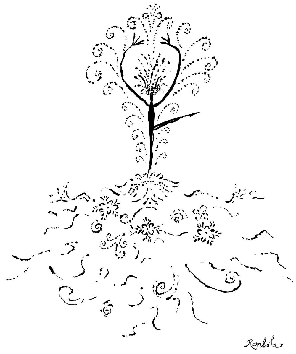 Ballet    Ink on paper 1963