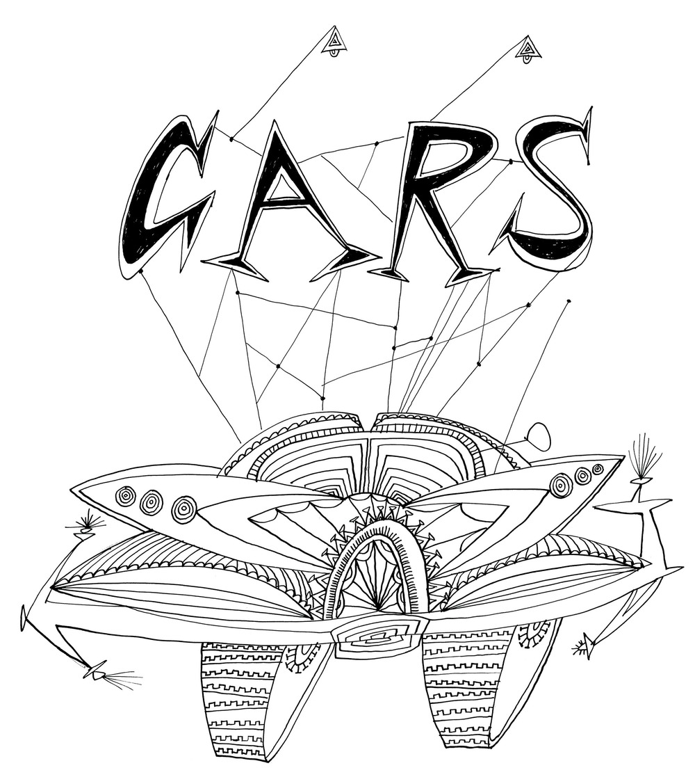 Cars    Ink on paper 1966