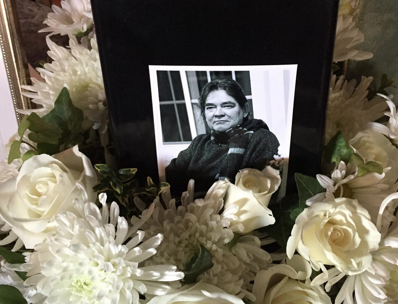 Photo from Stan's memorial service by Andrew Utschig