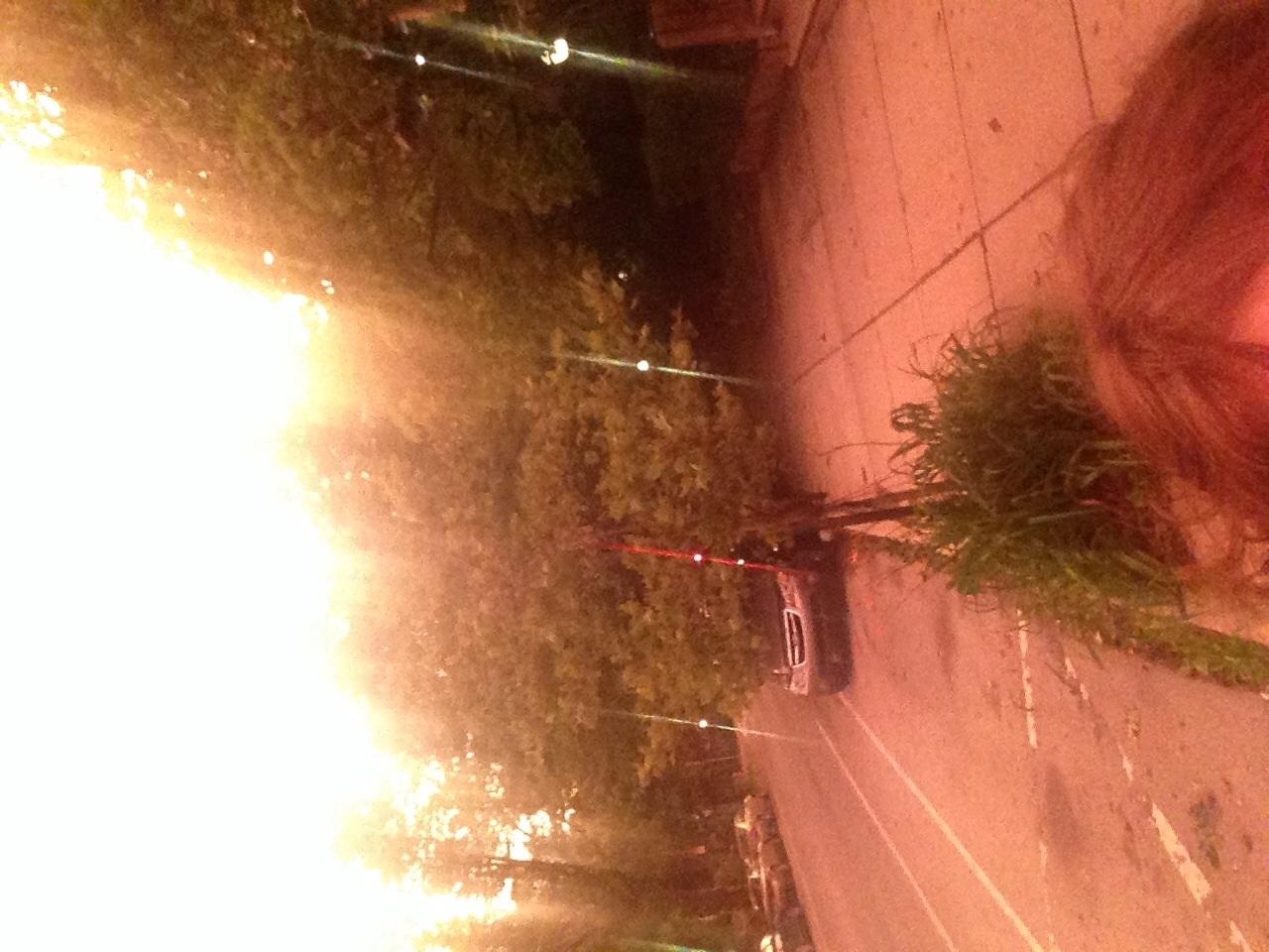 Photo, Weird post-storm lighting in Philly,Melanie Farley